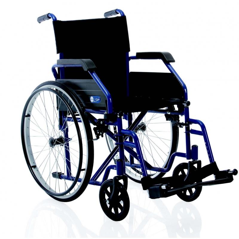 Silla de ruedas plegable cosmo m dica - Ruedas de sillas ...
