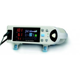 MONITOR CON PULSIOXIMETRIA CON PANTALLA LCD