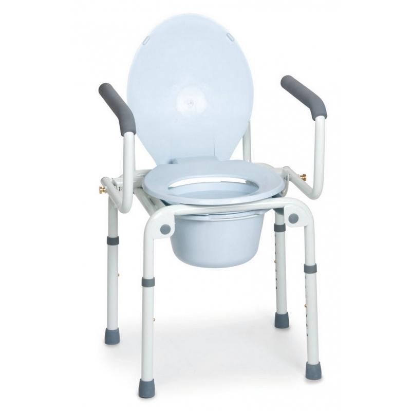 Silla wc 4 en 1 ayuda para wc for Sillas wc para enfermos