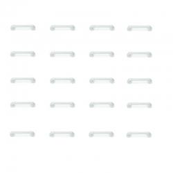 ASIDERO EN PVC 30 CMS (PACK 20 UNID.)