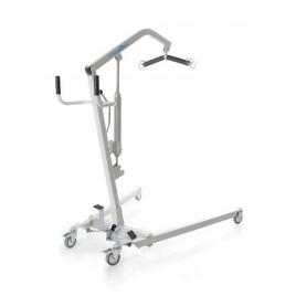 Grúa hidráulica hasta 135 kg con sistema de apertura de pedal.