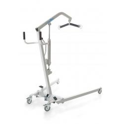 Grúa hidráulica hasta 180 kg con sistema de apertura de pedal