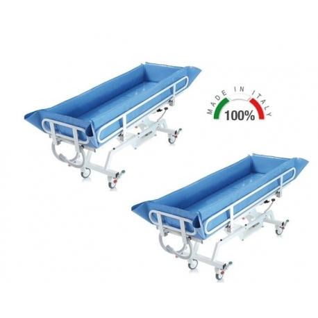 Carro de lavado hidraúlico hasta 180kgs (pack de 2 unid.)