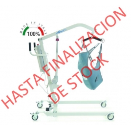 GRUA ELÉCTRICA HASTA 135KG CON SISTEMA DE APERTURA DE PEDAL