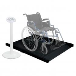 Báscula plataforma digital para silla de ruedas. Clase III