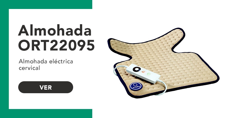 Almohada eléctrica cervical ORT22095