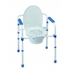 SILLA WC PLEGABLE 3 EN 1