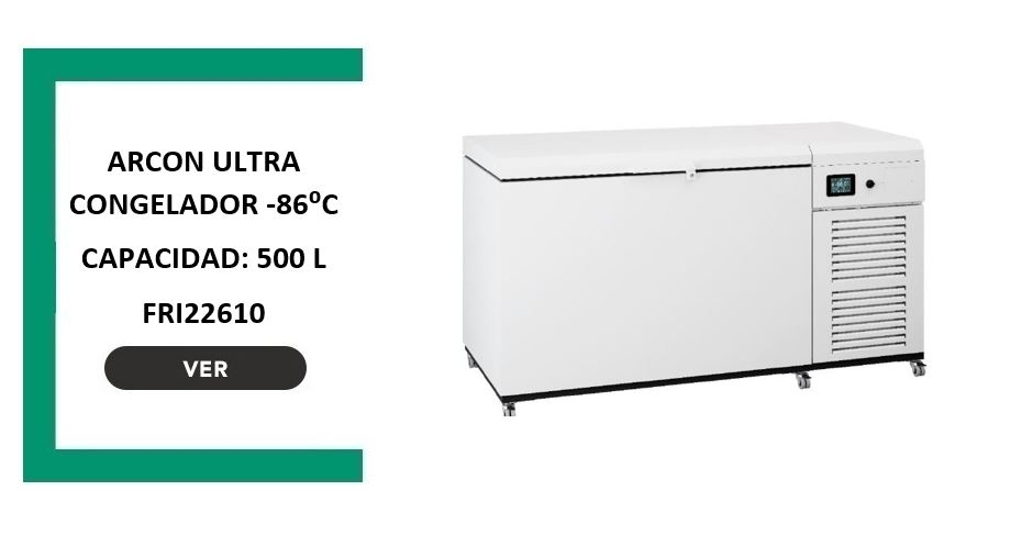 ARCON ULTRACONGELADOR -86° de 500 litros